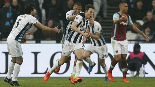 Jonny Evans WBA Premier League