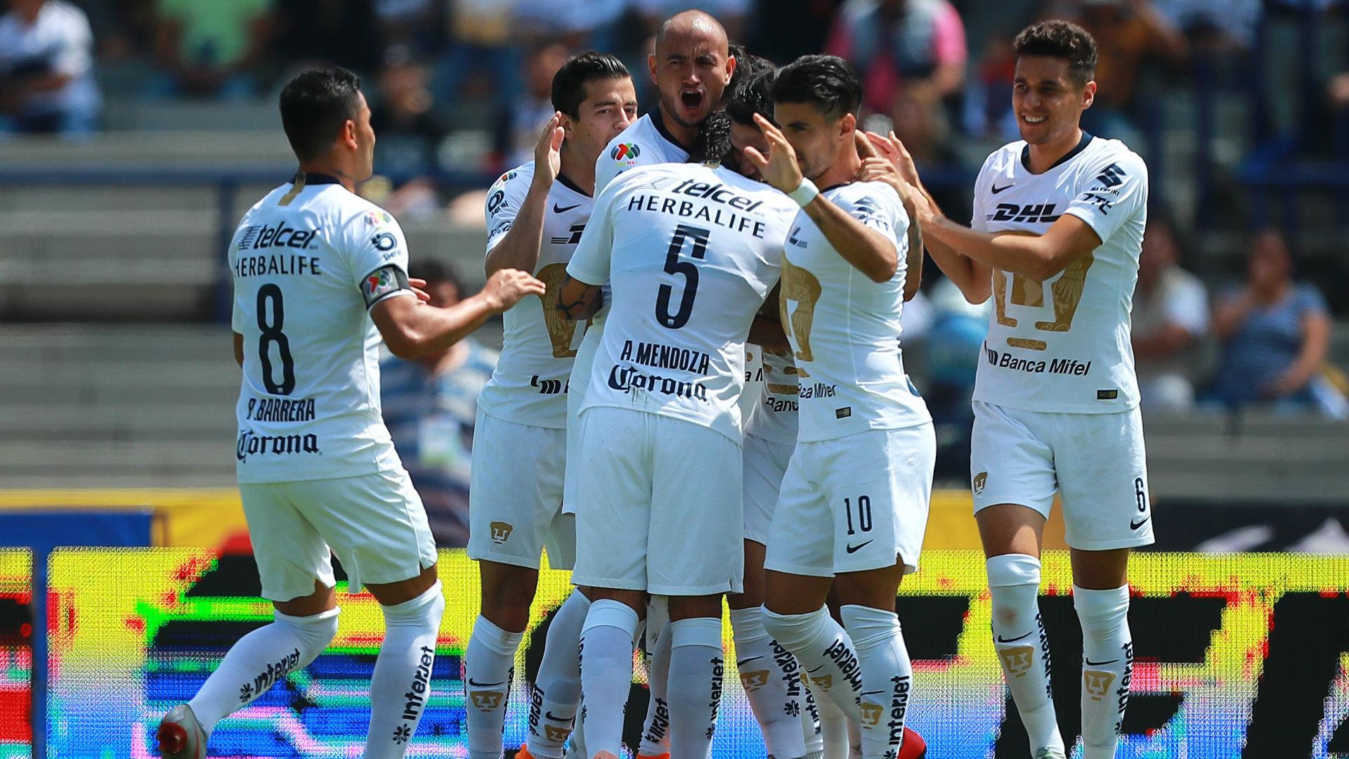 Pumas vs Puebla Apertura 2018 Liga MX