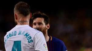 Sergio Ramos Lionel Messi Barcelona Real Madrid El Clasico LaLiga 06052018