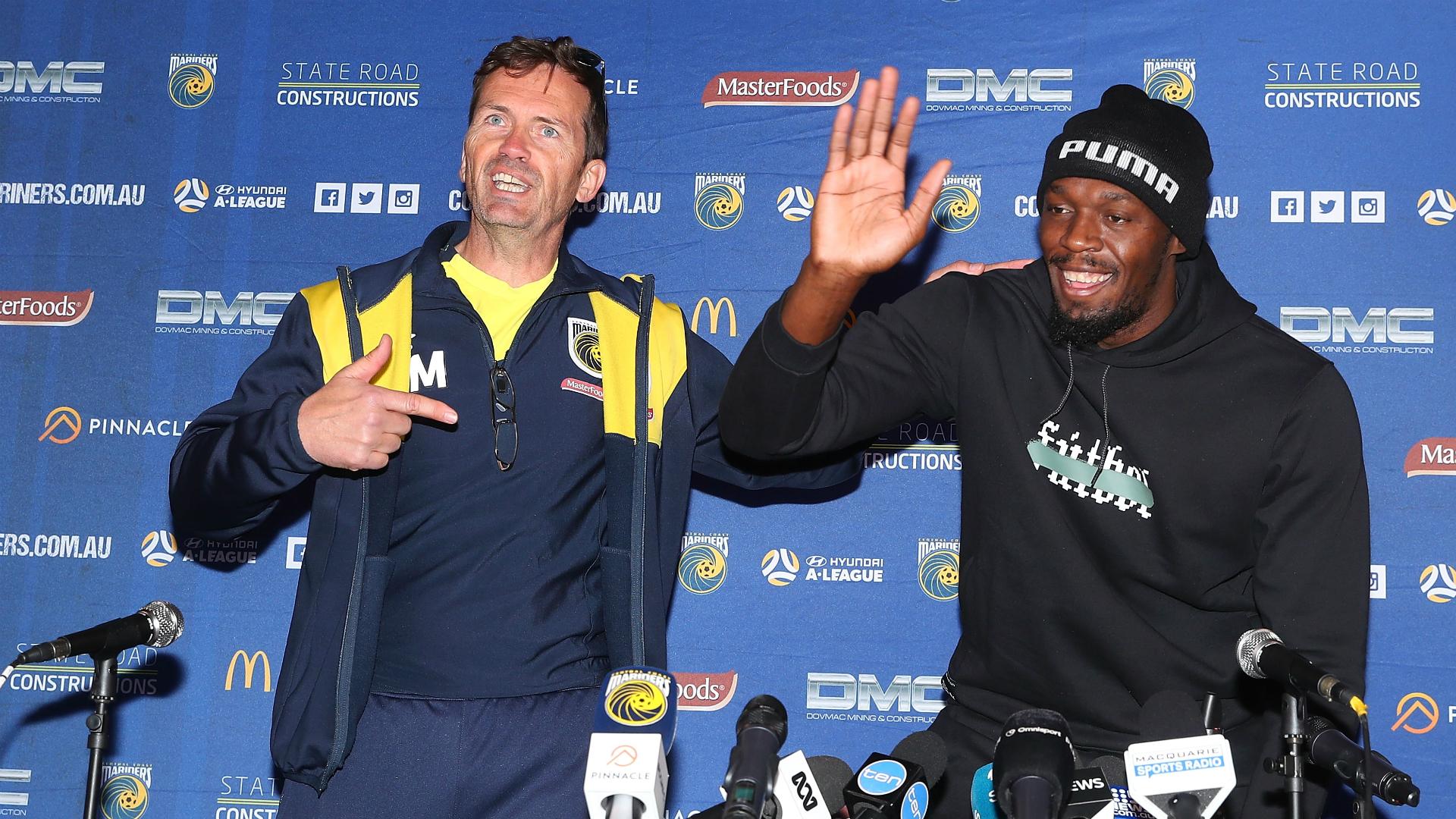Mike Mulvey Usain Bolt