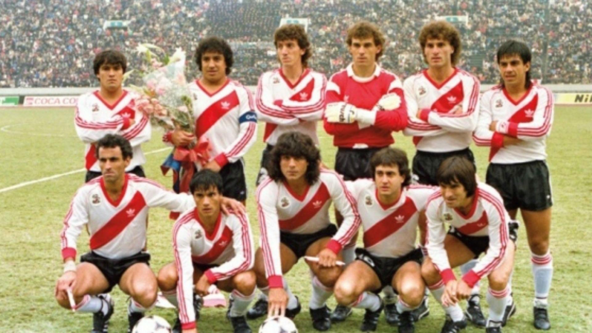 River 1986 equipo