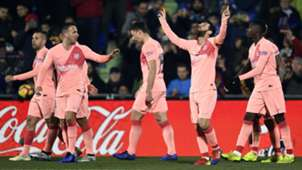 FC Barcelona Lionel Messi celebration Jubel LaLiga 06012019