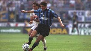 Young Javier Zanetti Inter