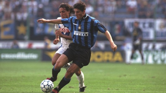 Young Javier Zanetti Inter