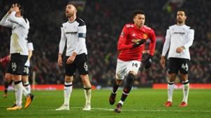 Jesse Lingard Manchester United Derby