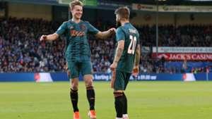 Frenkie de Jong Lasse Schone Ajax 05152019