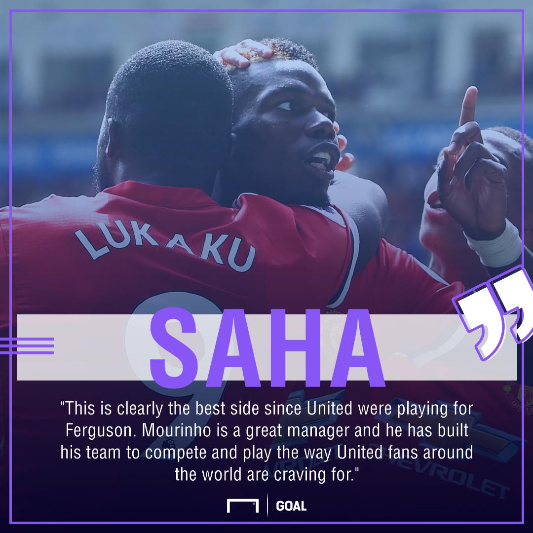 Louis Saha Manchester United best since Ferguson
