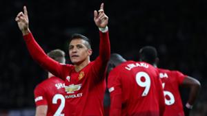 Alexis Sanchez Man United Premier League 2018-19