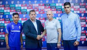 Cambodia India International friendly 2017