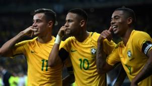 Neymar Coutinho Gabriel Jesus Brazil