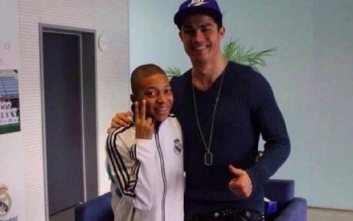 Mbappe and Ronaldo