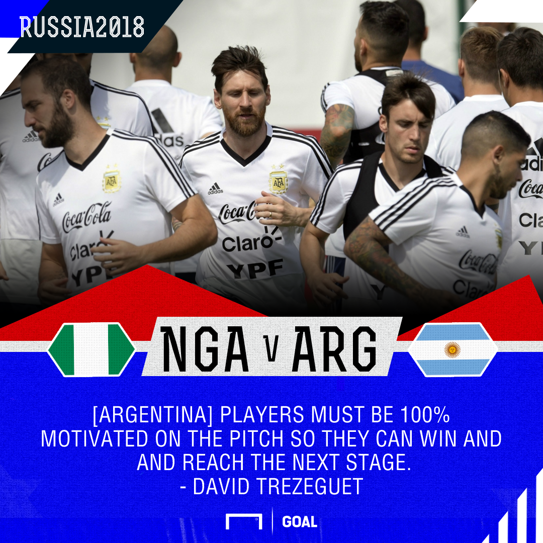 Nigeria vs. Argentina - Football Match Report