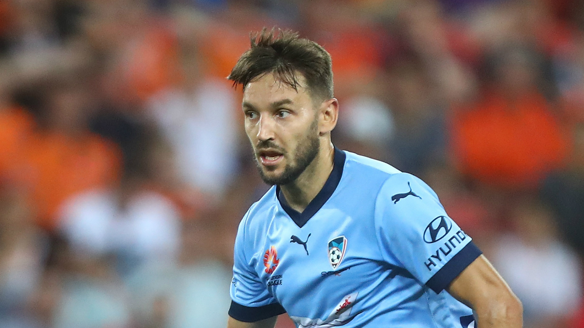 Milos Ninkovic Brisbane Roar v Sydney FC A-League 03022017