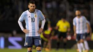 Lionel Messi Argentina Venezuela Eliminatorias Sudamericanas 05092017