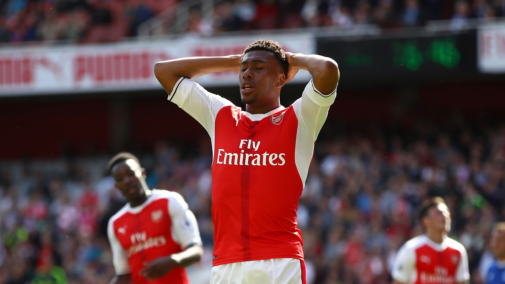 Alex Iwobi Arsenal Everton