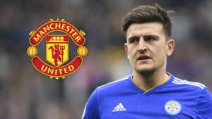 Harry Maguire Leicester City Man Utd 2018