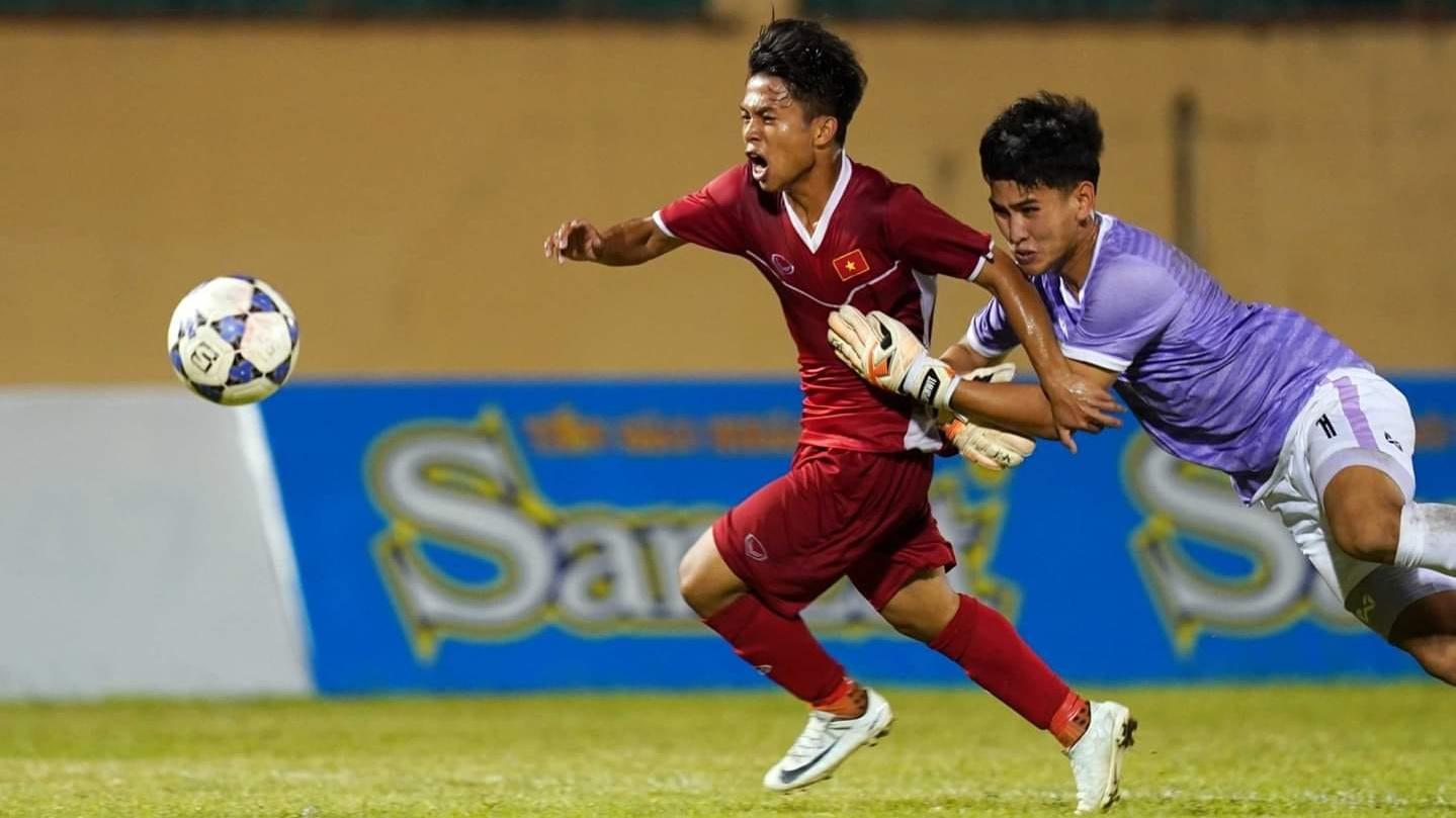 Pham Xuan Tao U18 Vietnam U18 Thailand U18 Friendly Tournament 2019