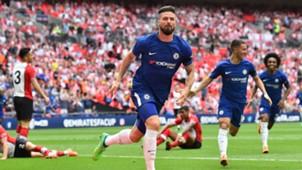 Olivier Giroud Chelsea Southampton