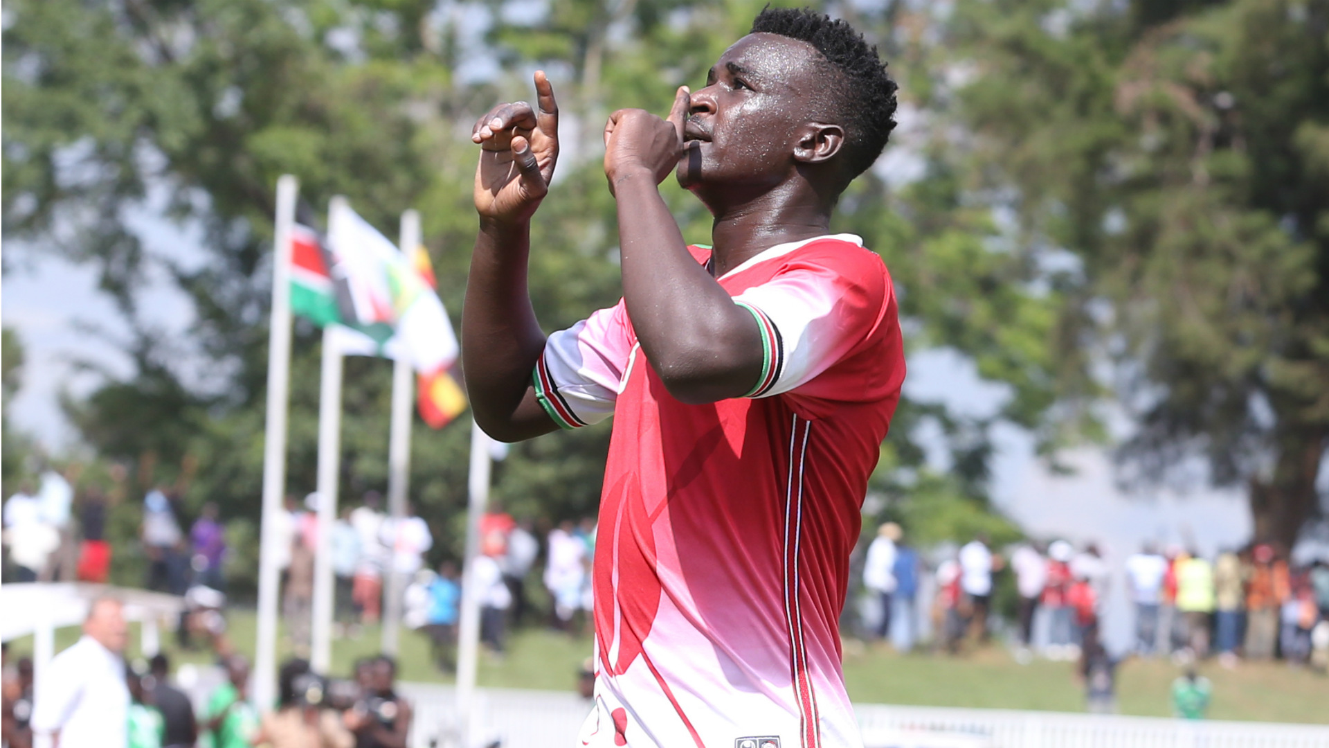 Sam Nyamweya congratulates Harambee Stars for winning Cecafa