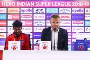 Josep Gombau Shikharr Chandra Delhi Dynamos