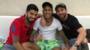 INSTAGRAM Messi Neymar Suarez