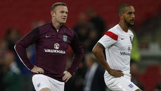 Wayne Rooney Theo Walcott England