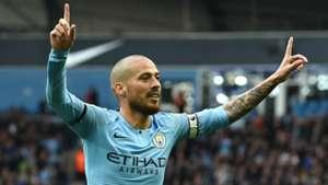 David Silva Man City vs Southampton Premier League 2018-19
