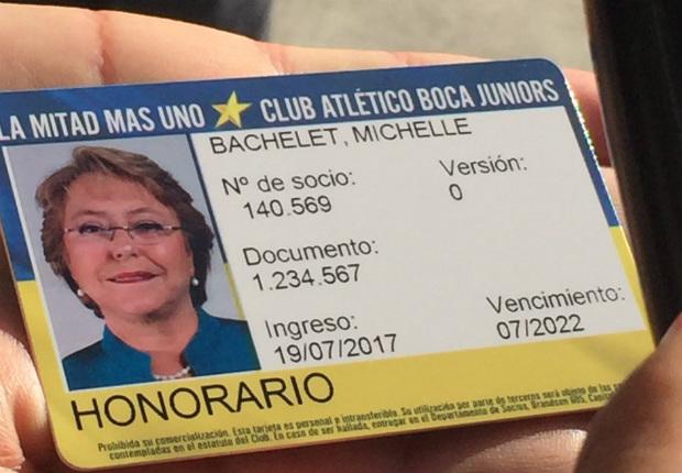 Bachelet Boca carnet