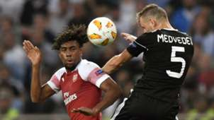 Iwobi vs Qarabag Arsenal