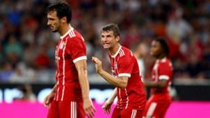 Mats Hummels, Thomas Müller, Audi Cup 2017, Bayern Liverpool, 01082017