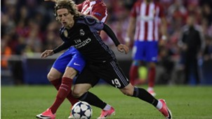 Luka Modric Atletico Madrid Real Madrid