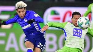 Amine Harit Jeffrey Bruma Schalke Wolfsburg