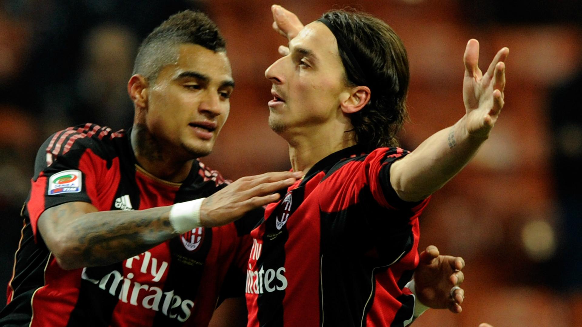 Boateng- Ibrahimovic - Milan