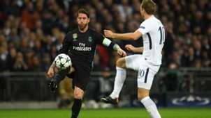 Sergio Ramos Real Madrid Harry Kane