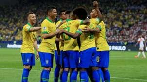 Willian Brazil Peru Copa America 2019
