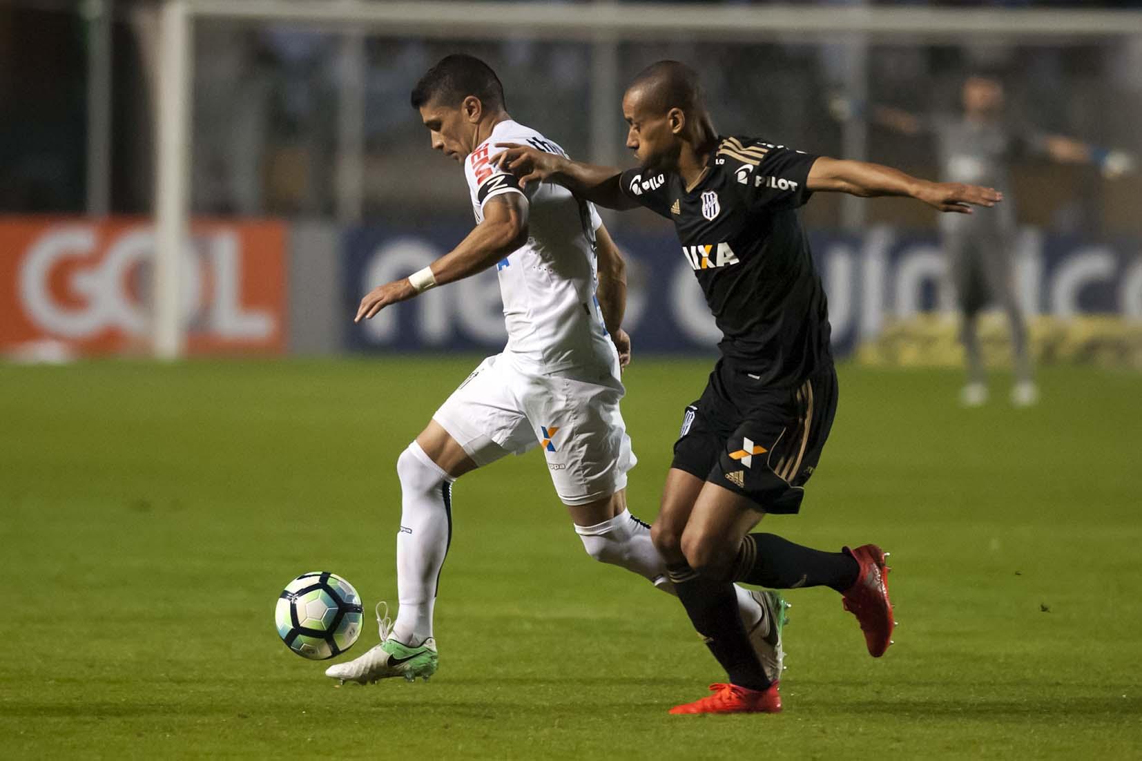Santos vs Ponte Preta 170617