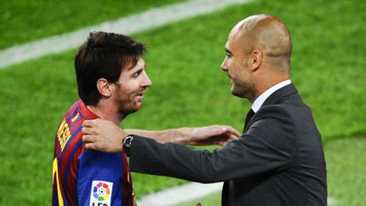 Lionel Messi, Pep Guardiola
