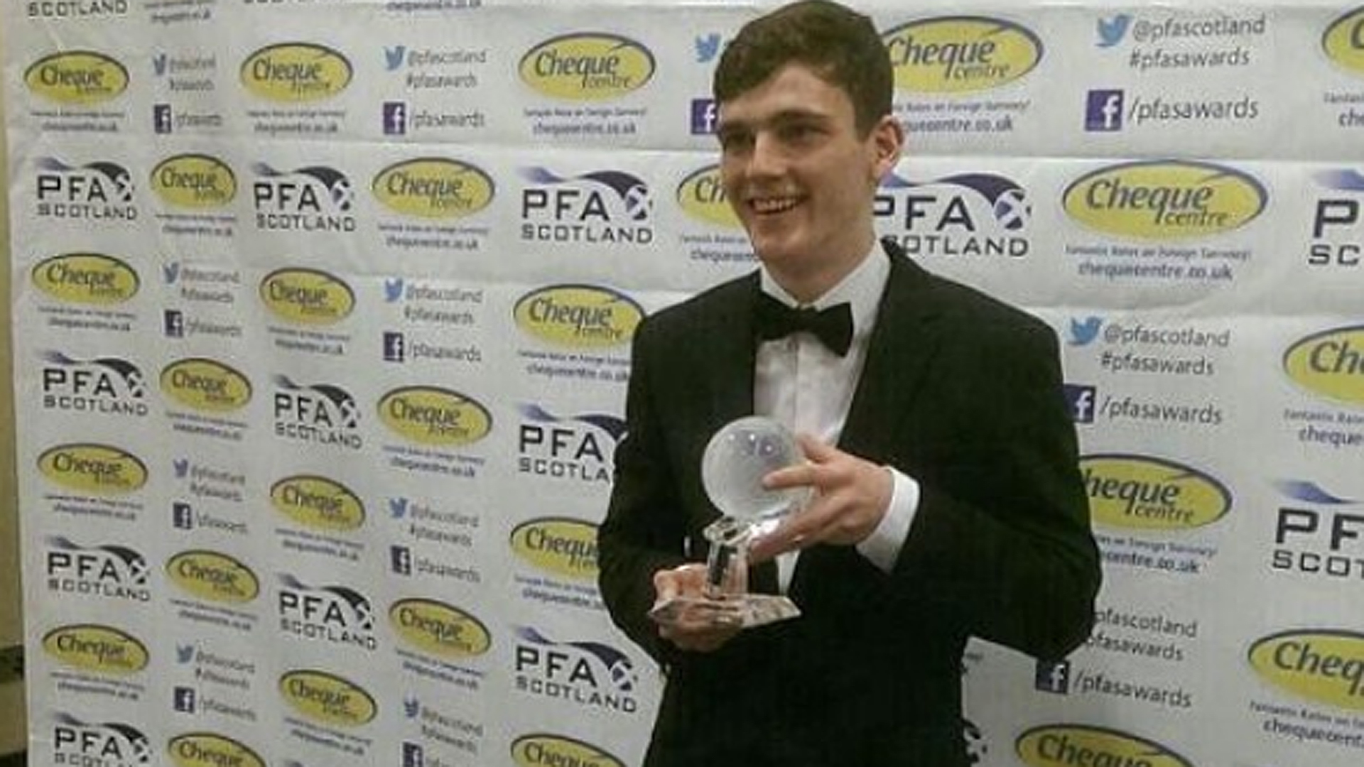 Andrew Robertson Dundee United