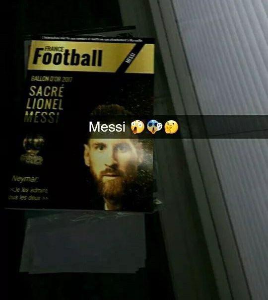 messi portada balon de oro france football