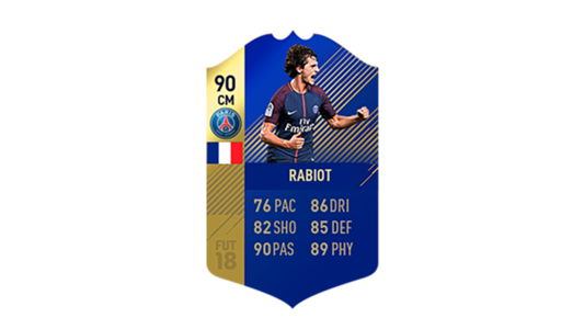 FIFA 18 Ligue 1 Team of the Season Rabiot