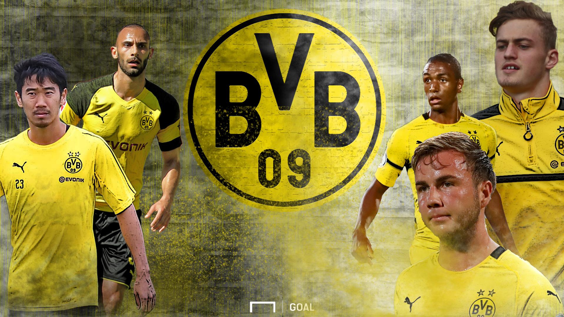 GFX BVB Borussia Dortmund Saisonvorbereitung