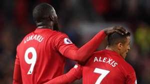 Romelu Lukaku Alexis Sanchez Man Utd