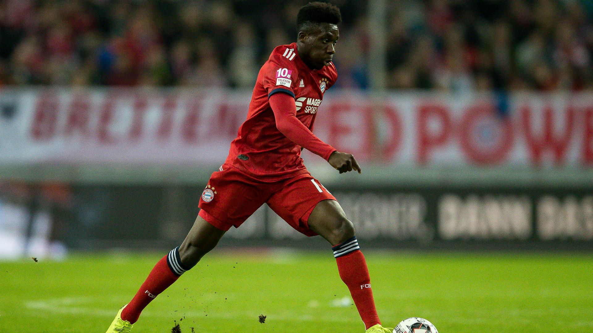 Alphonso Davies Bayern Munchen 2018-19