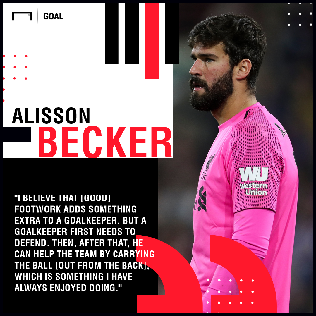 Alisson Liverpool Footwork PS