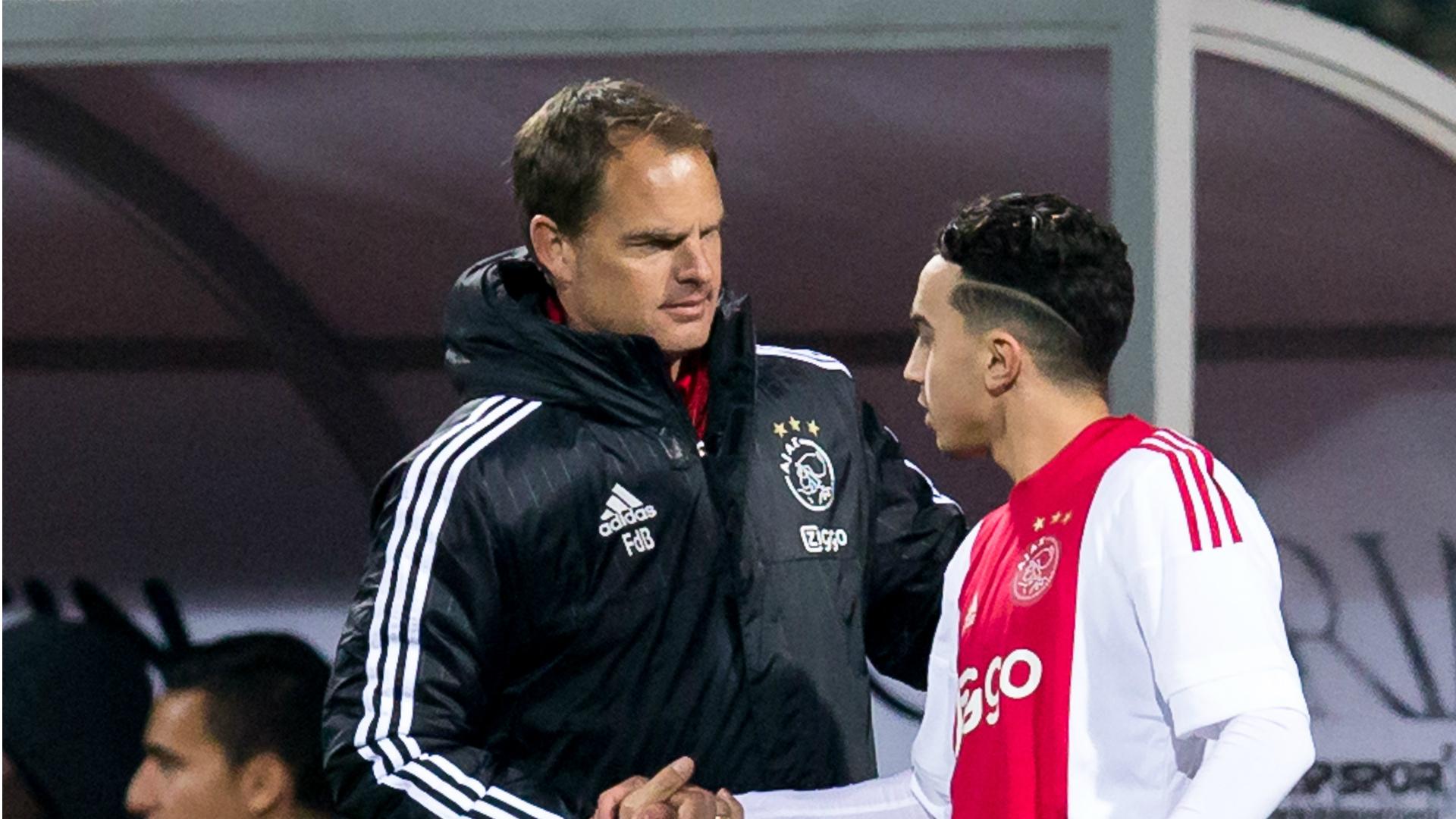 Abdelhak Nouri, Frank de Boer, Ajax, 01092015