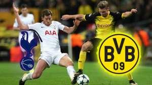 GFX Borussia Dortmund Tottenham 2019