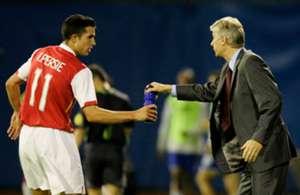 Van Persie & Wenger