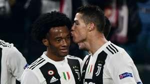 Juan Cuadrado Cristiano Ronaldo Juventus 2018-19