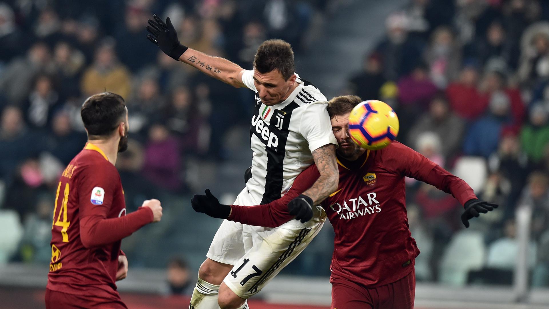Mario Mandzukic Juventus Turin Roma 22122018