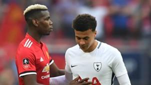 Dele Alli Paul Pogba Tottenham Manchester United